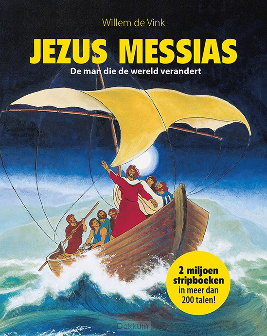 JEZUS MESSIAS STRIPBOEK